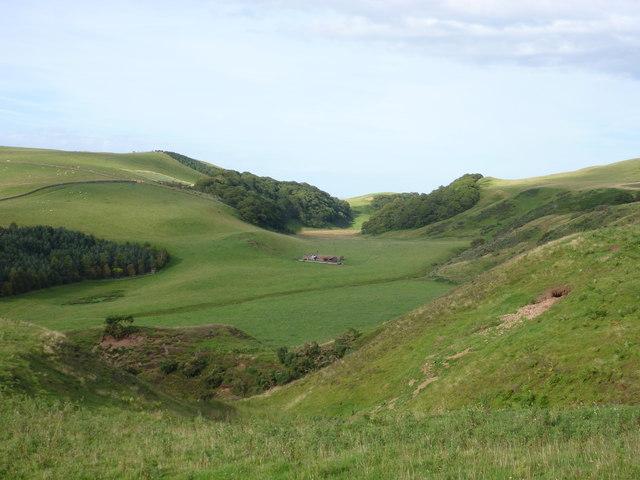 East Lothian Geomorphology : The Deuchrie Channel