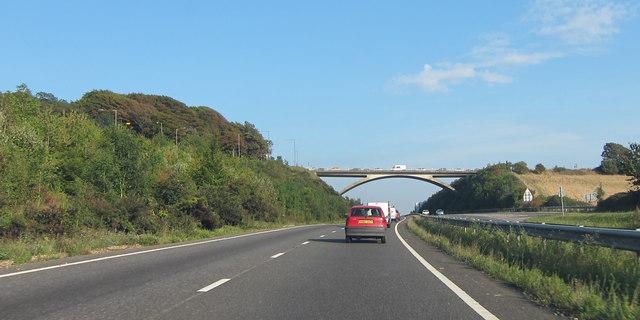 Ditchling Road bridge over A27