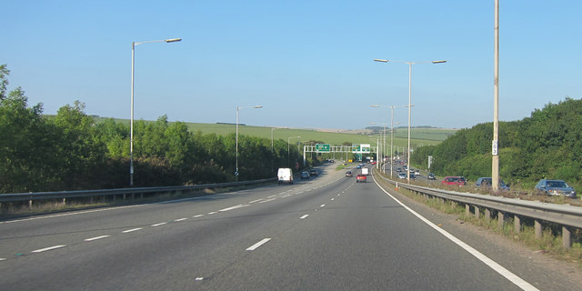 A27 junction
