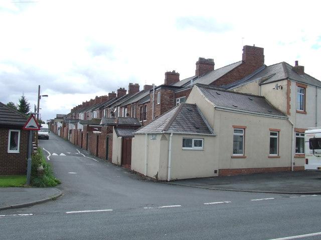 Lane near Fencehouses