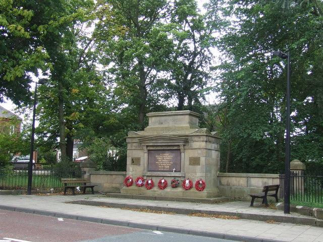 Fencehouses War Memorial