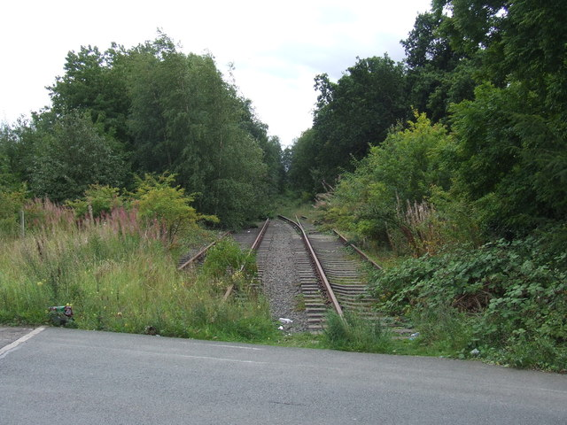 Disused railway at Fencehouses