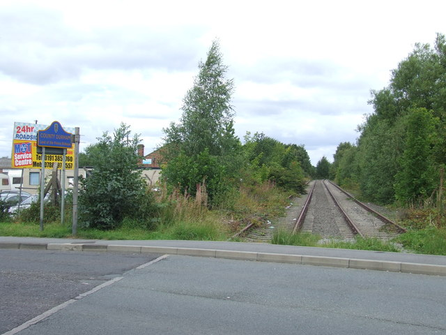Site of Fencehouses station