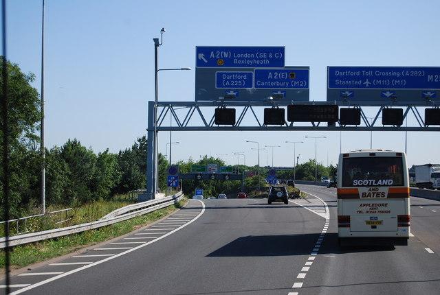 M25, Junction 2