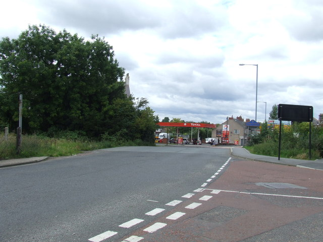 Site of level crossing, Fencehouses