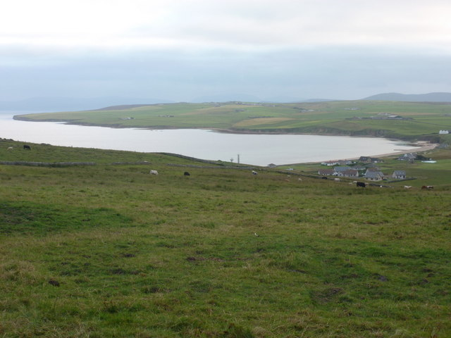 Kirkwall: Scapa Bay from the A961