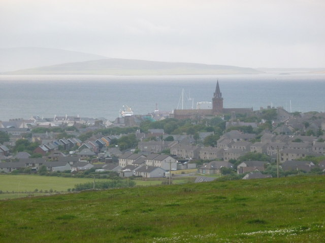 Kirkwall: first view from the south