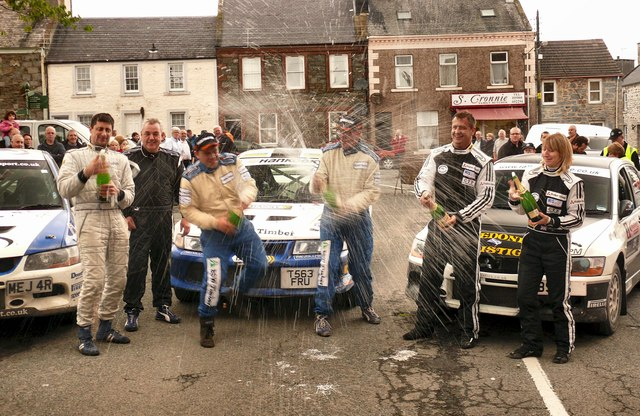 Merrick Stages 2011 - Podium Celebrations