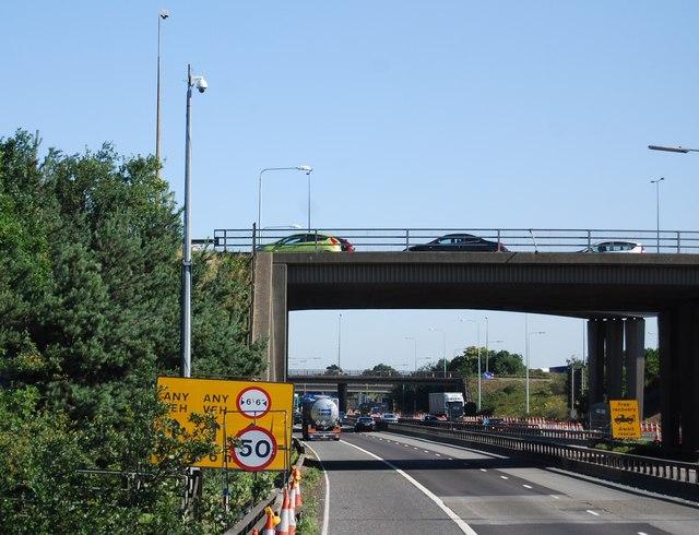 M25, junction 30