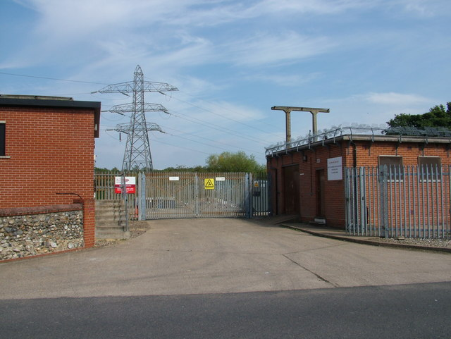 Disused part of substation