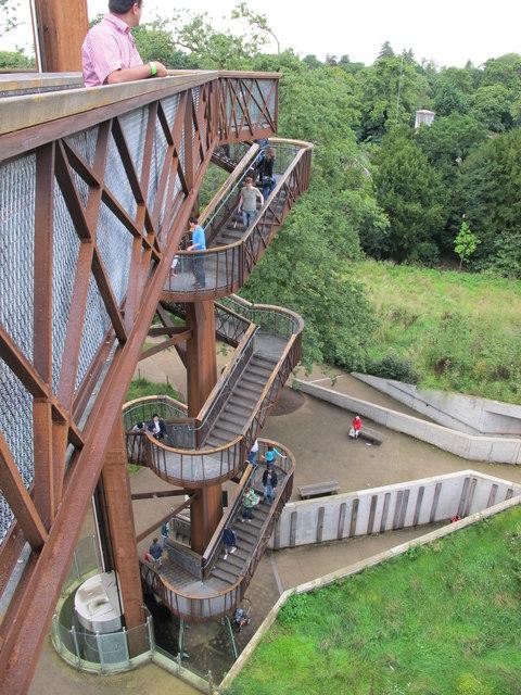 Aerial walkway in Kew Gardens