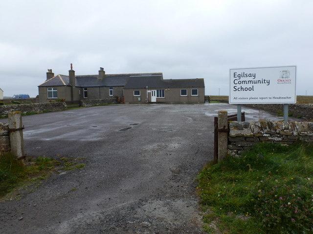 Egilsay: the school