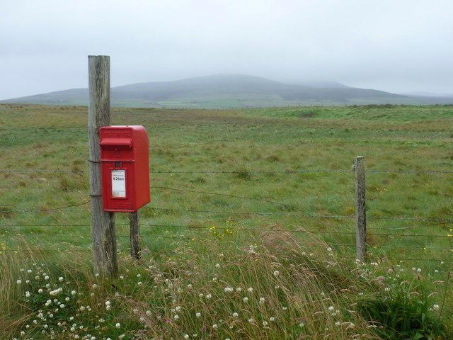 Egilsay: postbox № KW17 61