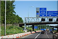 TQ5790 : 1 mile to junction 28, M25 by Nigel Chadwick
