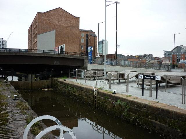 Lock #82, Rochdale Canal on Ancoats Lane