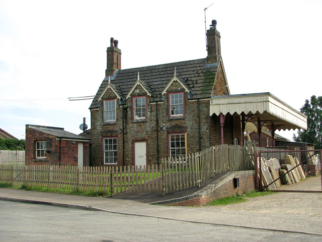 The former railway station in Dersingham