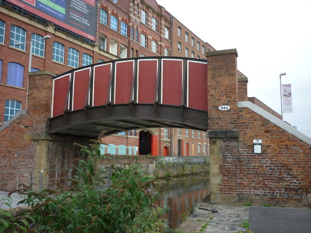 Bridge #88a on the Rochdale Canal