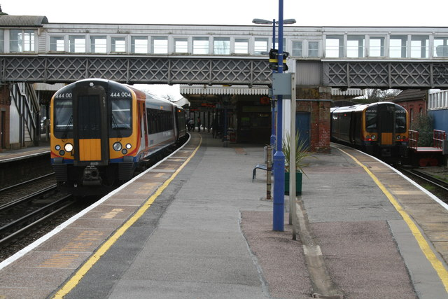 Brockenhurst Railway Station