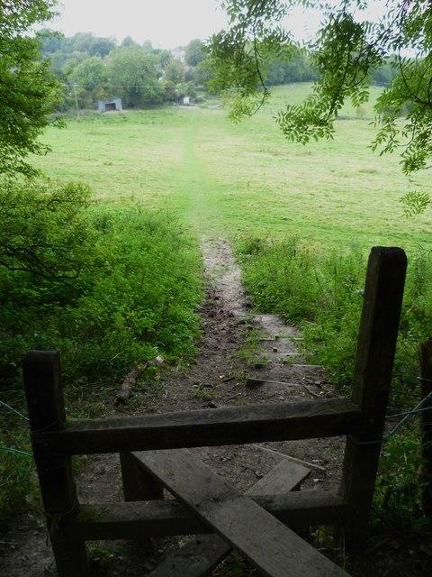 Footpath towards Washington