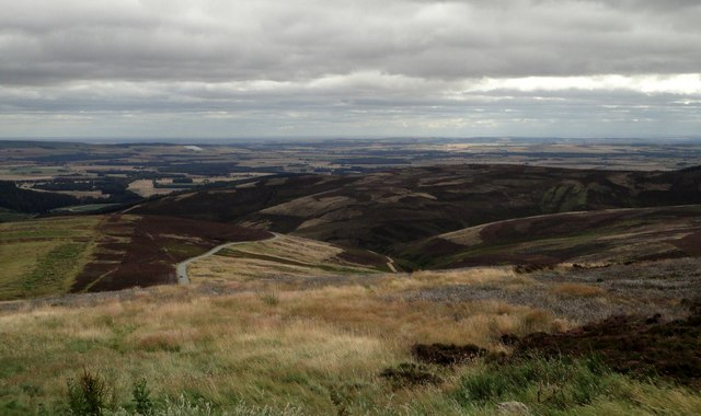 View from Cairn o' Mount