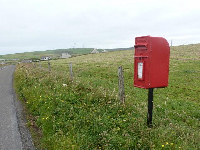 Costa: postbox № KW17 58