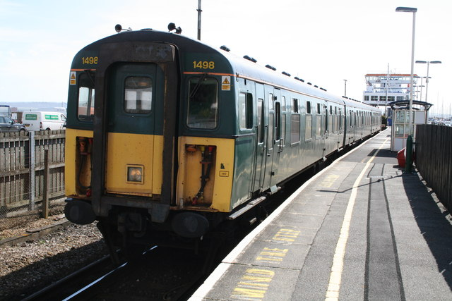 Lymington Pier Railway Station