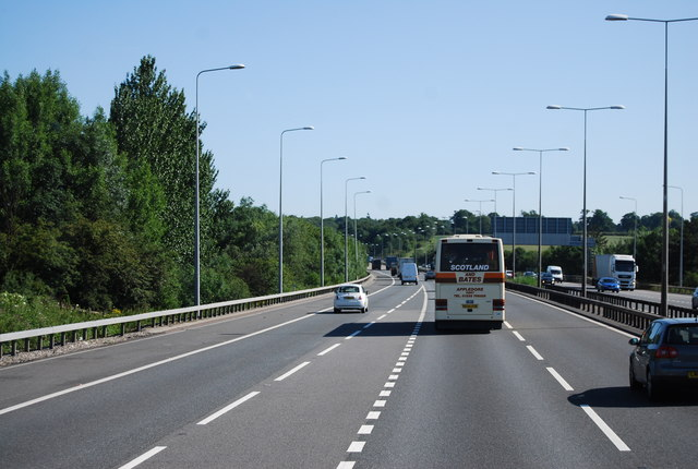 M11 north of junction 6