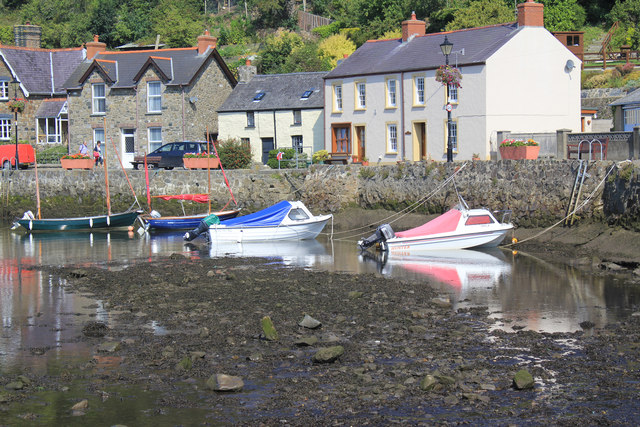 View from Fishguard Quay
