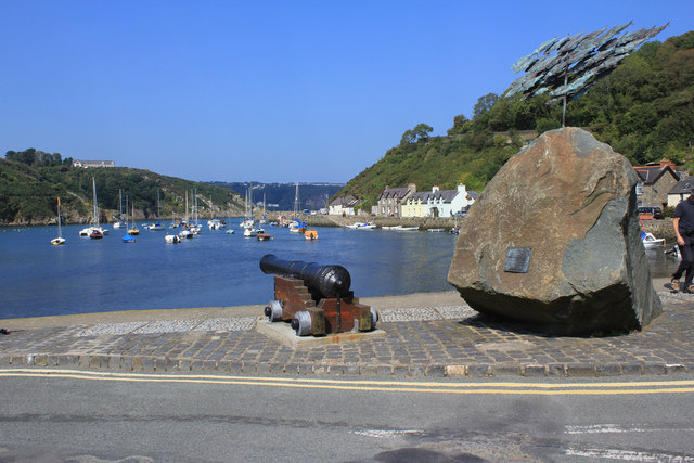 View from the quay at Fishguard