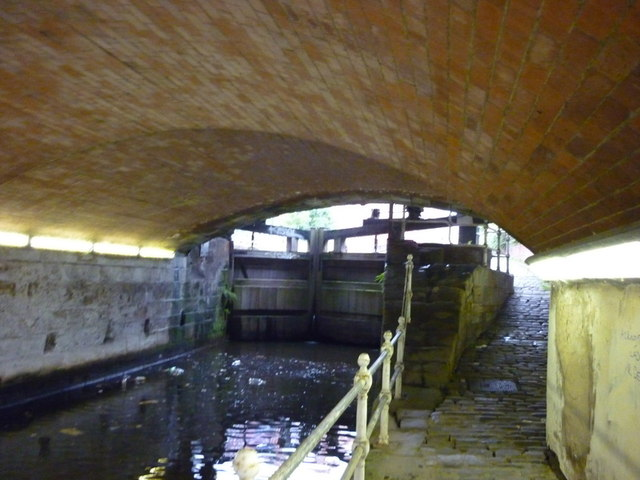 Walking under the A665, Great Ancoats Street