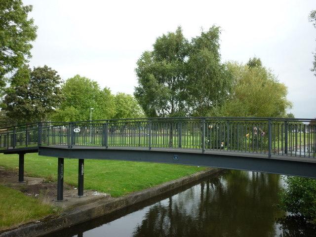 Bridge #87a on the Rochdale Canal