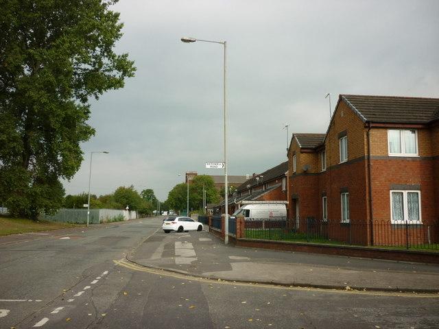 Livesey Street near Bothwell Road