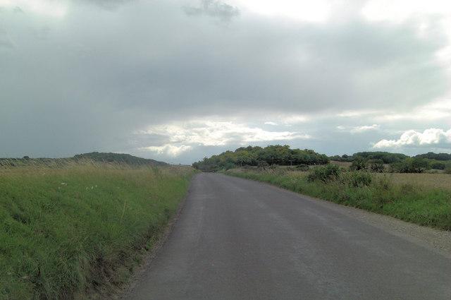 Halfpenny Lane heads towards Shortlands Hill