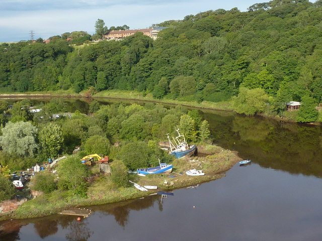 View of the river Esk