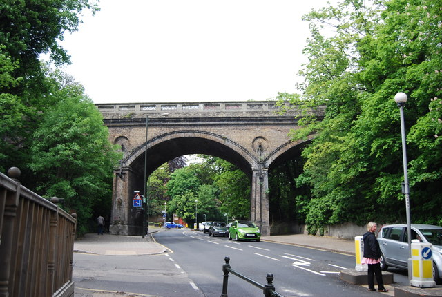 Railway bridge, Penge High St