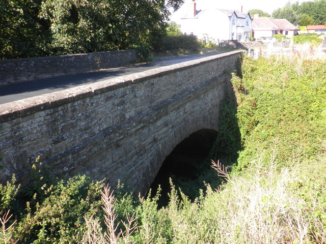 Former railway bridge, Holme Lacy