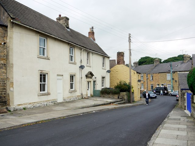 North end of Meadhope Street, Wolsingham