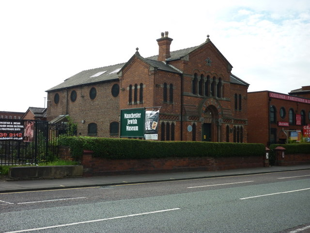 The Manchester Jewish Museum on Cheetham Hill Road
