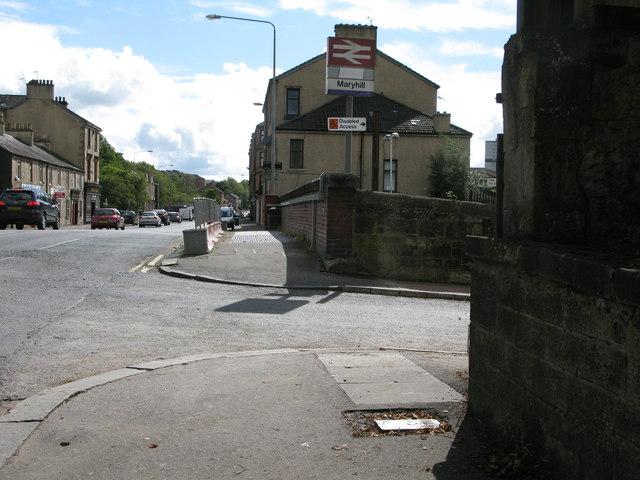 Maryhill Road (A81)
