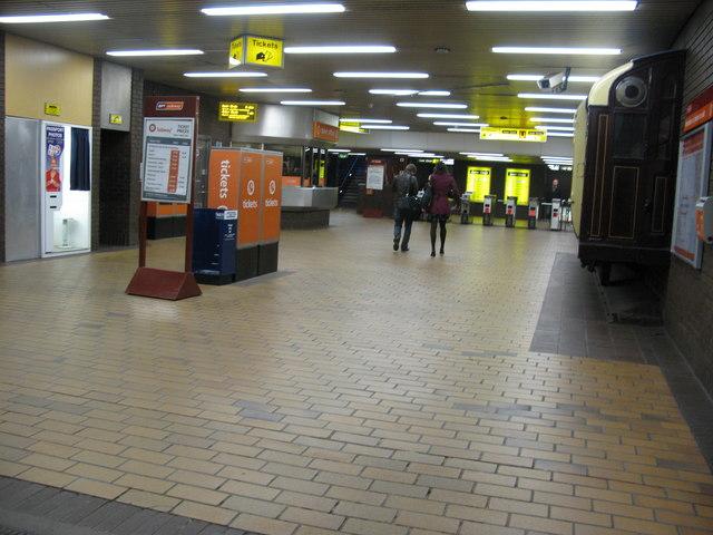 Buchanan Street Subway station