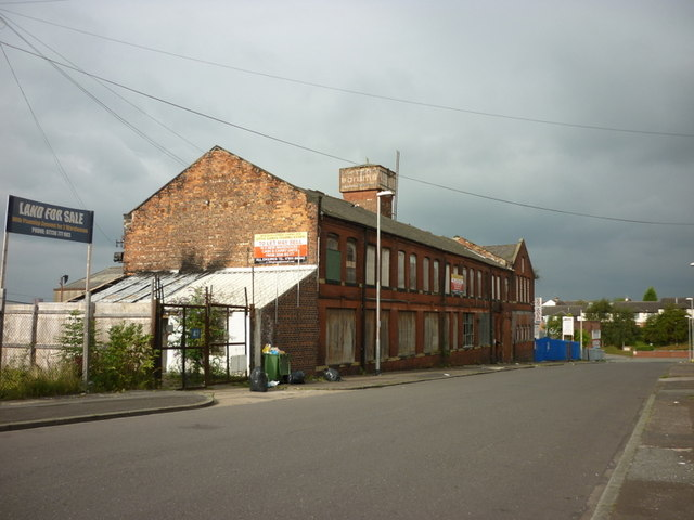 A disused building on Broughton Street