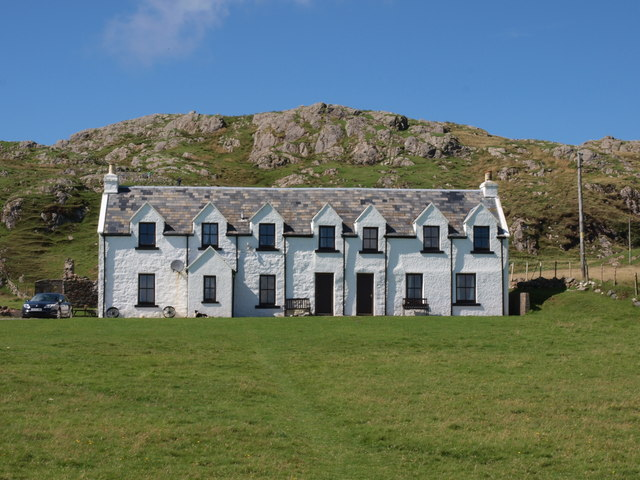 Cottages on Iona
