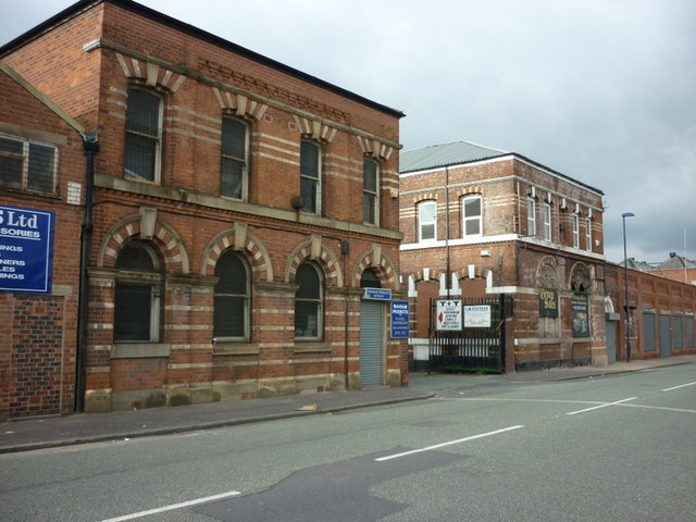 Buildings on Broughton Lane