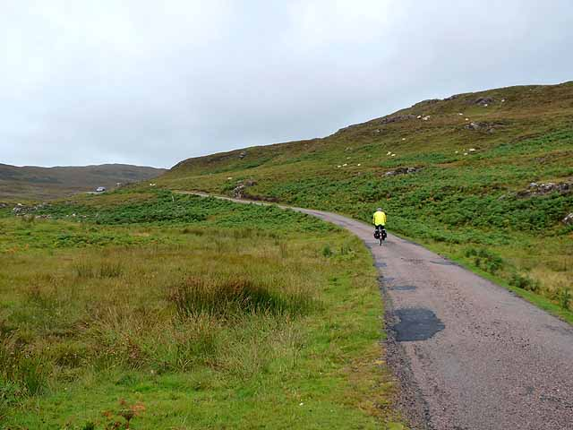 The mountain road from Torloisk to Dervaig