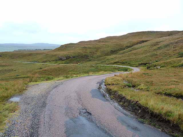 The descent to Dervaig