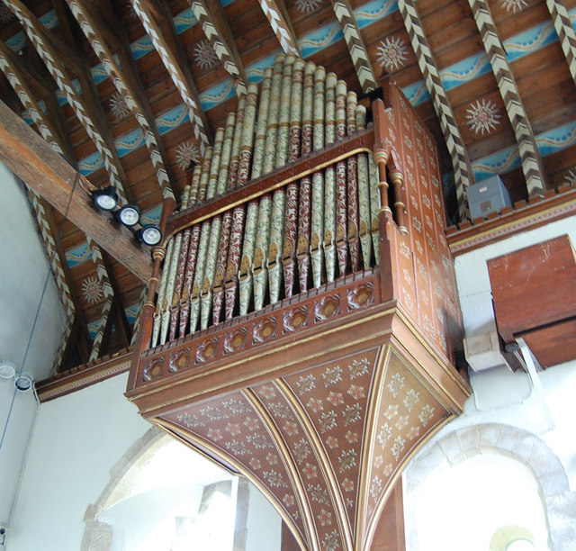 The Organ in Westfield Church
