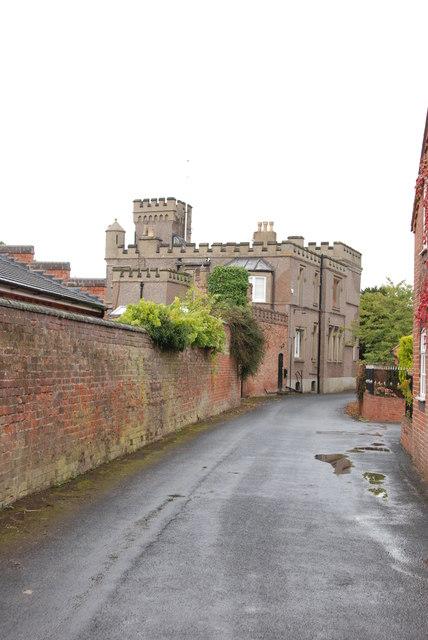 Lapley 'castle' 1, Park Lane, Lapley, Staffordshire