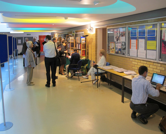 Lobby of Lecture Block, University of Surrey