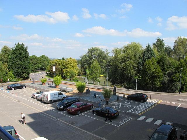 Senate House car park, University of Surrey