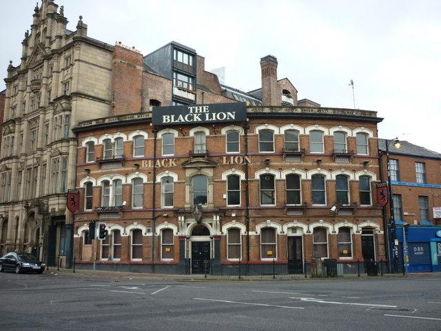 The Black Lion on Blackfriars Road